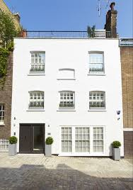 DUA Designs Contemporary Dublin Mews House With Sunken Concrete Mews Home