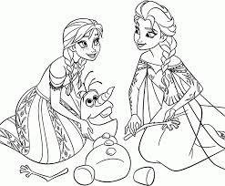 Disney Princess Coloring Pages Frozen Elsa
