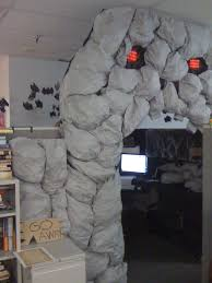 office halloween decoration. Brilliant Decoration Decorating Office For Halloween Decorate Cubicle With Diy Cave Halloween  White Monster And Your On Office Halloween Decoration M