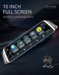 "<b>Jansite 10</b>"" <b>Touch</b> Screen <b>4G</b> WIFI Smart Car DVR Android Stream ..."