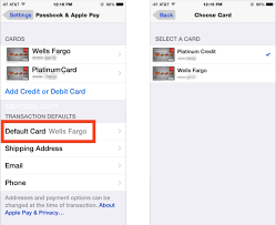 Open cash app on your iphone or android phone. How To Change The Default Apple Pay Credit Card On Iphone Osxdaily