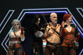 Triss cosplay ChinaJoy 2017 Gwent official booth witcher
