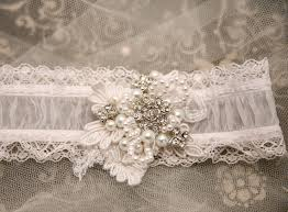 shear wedding garter with lace pearls and rhinestones, bridal Wedding Garter Facts shear wedding garter with lace pearls and rhinestones, bridal garter $45 00, via etsy wedding garter facts
