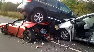 bad car accident. the physics of car crashes bad accident a