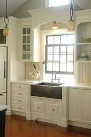 over the sink lighting. builtin wooden window cornices google search over the sink lighting o