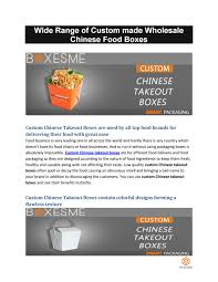 Flawless Custom Designs Custom Chinese Takeout Boxes By Jason Boxesme Issuu