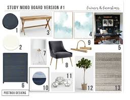 Home Post Box Designs Trend Alert Home Office Navy Built Ins Real Study