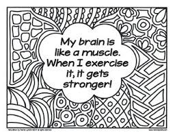 Growth Mindset Coloring Pages Affirmations Set By Rachel Lynette