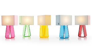 Pablo Designs Tube Top Lamp Tube Top 14 Lighting Color Table Lamp Traditional Lamps