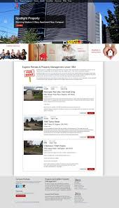 Property Management Website Design Templates Maintenance And Seo