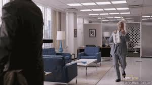 roger sterling office. Mad Men Season 5 GIF Roger Sterling Office L