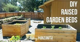 making raised garden how