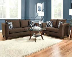 Brown Furniture Living Room Decor Image Of Tufted Brown Leather Sofa
