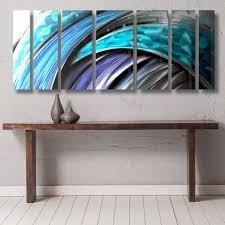 blue ocean themed nautical metal wall art typhoon by brian jones on large wall art teal with top trending large metal wall art dv8 studio