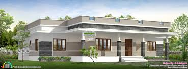 Square House Roof Design 2298 Square Feet 3 Bedroom Flat Roof Home Design Kerala
