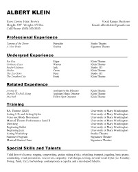 Photos On Resumes Sample Resumes Center For Career And Professional Development