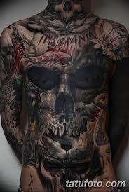 фото тату на все тело скелет 26032019 006 Whole Body Tattoo
