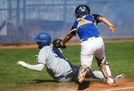 Baseball Basic Baseball Basic Plays With Fire But Tops California Opponent