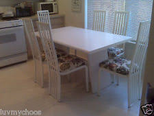 formica kitchen table. white formica kitchen table with 4 metal chairs~good condition~ formica kitchen table e