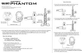 phantom xbox one setup diagram turtle beach Xbox Live Headsets Turtle Beach X16 at Turtle Beach Headset Xbox 360 Wire Diagram