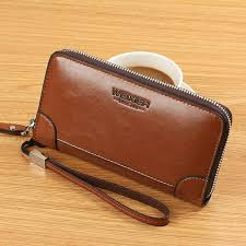 WEIXIER <b>Men Fashion</b> Wallet PU Leather <b>Mens</b> Purse Handbag ...