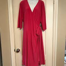 Nwt Kiyonna 3x Wrap Dress Nwt