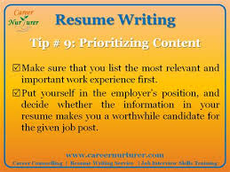 Professional Resume Writing In Mumbai