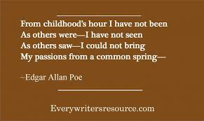 Edgar Allan Poe QuotesWords From A Master Of Horror And Writing Simple Edgar Allan Poe Quotes