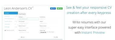 Online Resume Builder Enchanting Online Mobile Resume Maker Free Template Builder Templates Creator R