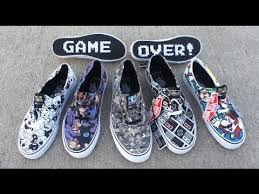 vans nintendo shoes. vans nintendo shoes collection e