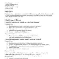 Office Assistant Resume Sample Pdf Administrative Medical