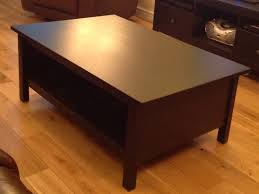 reduced now 20 ikea hemnes coffee table black brown 118x75cm