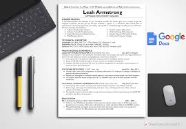 Resume Template Leah Armstrong Bestresumes