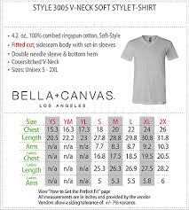 Bella Canvas Hoodie Size Chart 12 Conclusive Bella And Canvas Size Chart