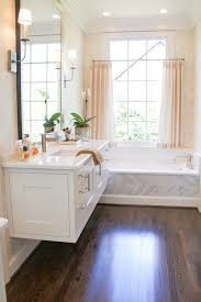 white floating vanity. Contemporary Vanity Extraordinary Bathroom Features A White Floating Vanity Topped With  Marble Countertop The Back Of The Is Filled Clad Dropin  For White Floating Vanity