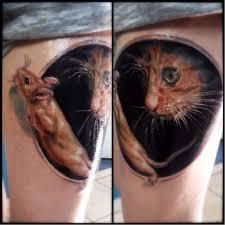 значение тату татуировки кошка