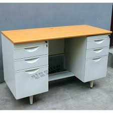 magnificent double sided desk picture office with drawers supplieranufacturers at clock