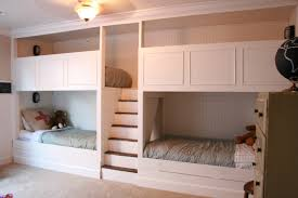 Built In Bed Plans Built In Bunk Beds Beds Decoration