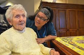 Hospice Aide Elena Caring For Care Dimensions Massachusetts