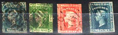 these stamps are known as laureates due to the laurel wreath on the queen s head they were printed without watermarks