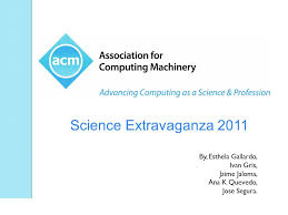 Science Extravaganza 2011 Visualization Workshop – Association for  Computing Machinery