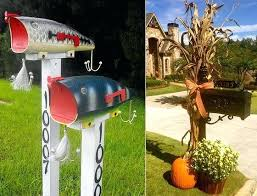 cool mailbox designs. Wonderful Mailbox House  Throughout Cool Mailbox Designs D