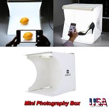 Foldable Photography Light Box Details About Foldable Portable Photo Light Box Studio Tent Home Photography Led Light Cube