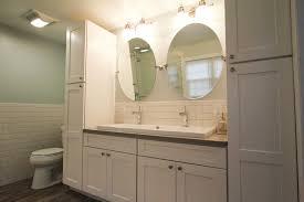 linen closet in bathroom. Enchanting Bathroom Vanity With Linen Cabinet And Appealing Cabinets Vanities Ideas Picture Closet In S