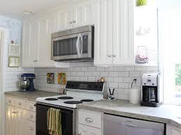 Brick Backsplash Kitchen Interior Stunning Gray Brick Backsplash Kitchen Backsplash Ideas