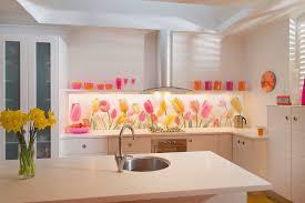 glass tile backsplash designs for kitchens. floral printed glass tile backsplash designs for kitchens