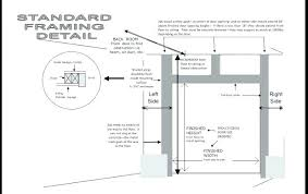 garage door jamb garage door frame how frame garage door jamb parts beach service within opening