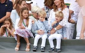 The Federer Twins Look Hilariously Unimpressed Watching Their Dad Win  Wimbledon