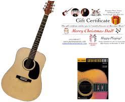 Guitar Lesson Gift Certificate Template Store Marsman Music Centre