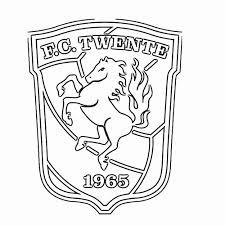 Kleurplaat Feyenoord Embleem Feyenoord Rotterdam Kolorowanka Z Logo